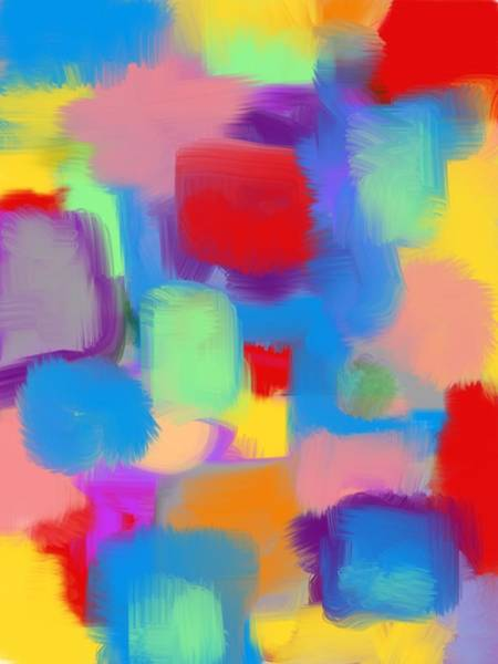 Wall Art - Digital Art - Juicy Shapes And Colors by Susan Stone