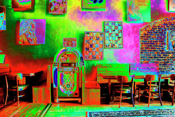 Solarized Photograph - Juke Joint by Paul W Faust -  Impressions of Light