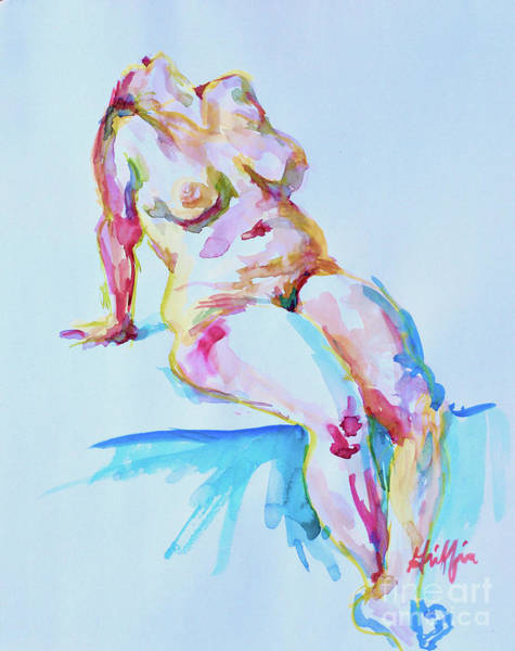 Painting - Julia 1 by Patricia A Griffin