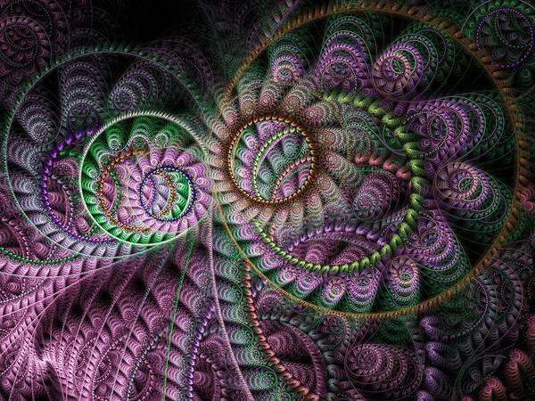 Julian Digital Art - Julian Circus Rings by Amorina Ashton