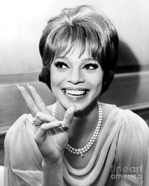Juliet Wall Art - Photograph - Juliet Prowse Who Despite Having Three Gowns Stolen, Opened At The Persian Room Of The Plaza Hotel.  by William Jacobellis
