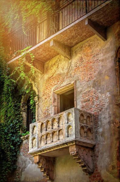 Wall Art - Photograph - Juliets Balcony Verona Italy  by Carol Japp