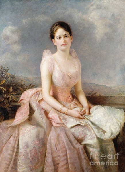 Painting - Juliette G. Low, 1860-1927. To License For Professional Use Visit Granger.com by Granger