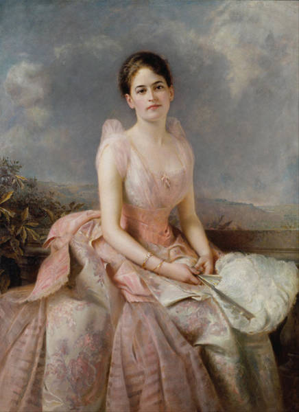 Painting - Juliette Gordon Low by Edward Robert Hughes