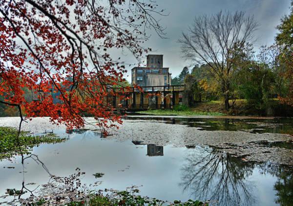 Georgia Power Company Photograph - Juliette Grist Mill by Ben Prepelka