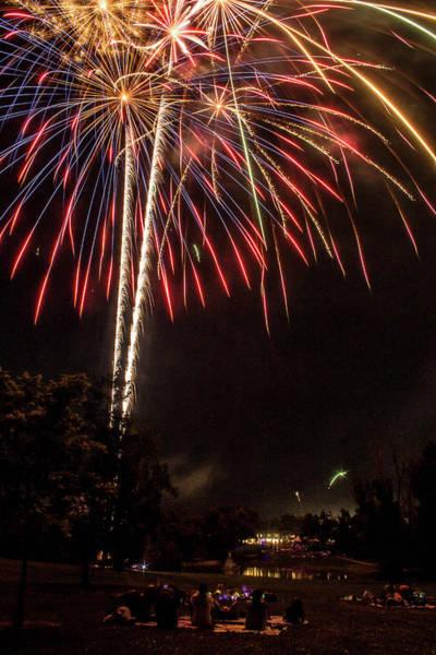 Photograph - July Fireworks by Tyson Kinnison