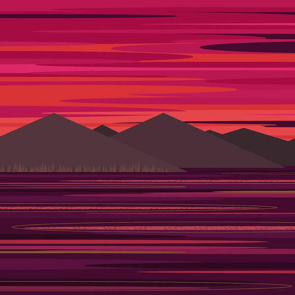 Digital Art - July Sky by Val Arie