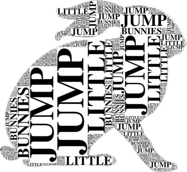 Digital Art - Jump Little Bunnies Jump by Alice Gipson
