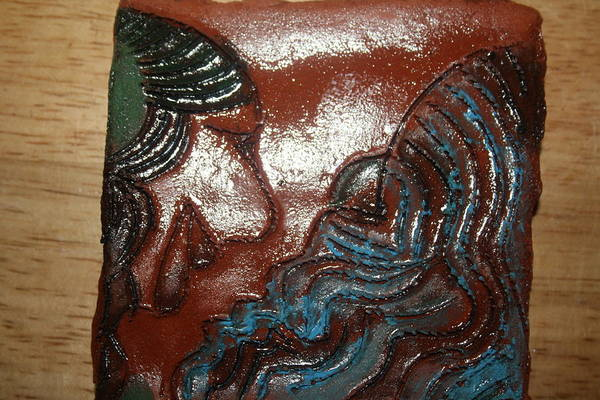 Ceramic Art - June - Tile by Gloria Ssali