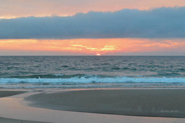 Photograph - June 20 Nags Head Sunrise by Barbara Ann Bell