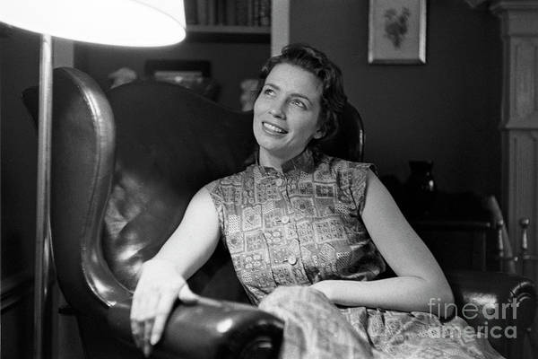 Wall Art - Photograph - June Carter, 1956 by The Harrington Collection