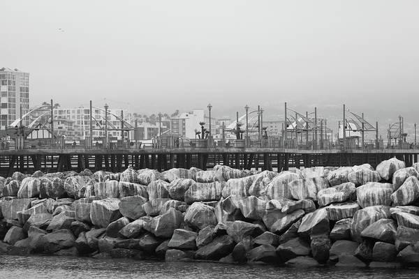 Waterbreak Wall Art - Photograph - June Gloom by Brian Jeffries