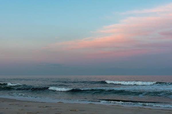 June Sky Seaside New Jersey Art Print