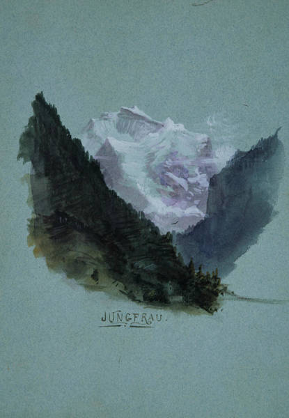 Drawing - Jungfrau by John Singer Sargent