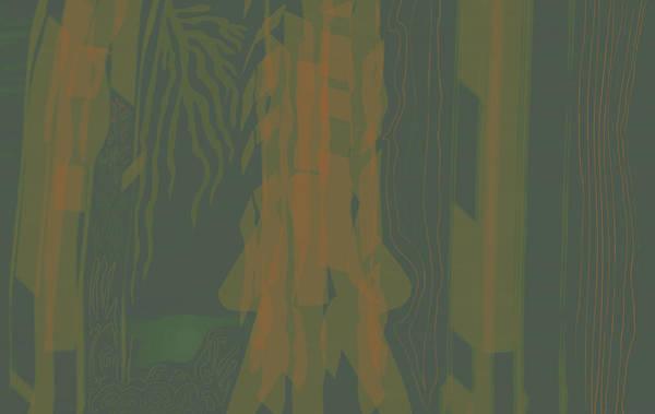 Digital Art - Jungle Stripe by Kevin McLaughlin
