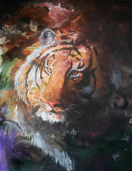 Painting - Jungle Tiger by Sherry Shipley