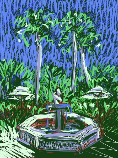 Painting - Jungles Of Palm Beach by Jean Pacheco Ravinski