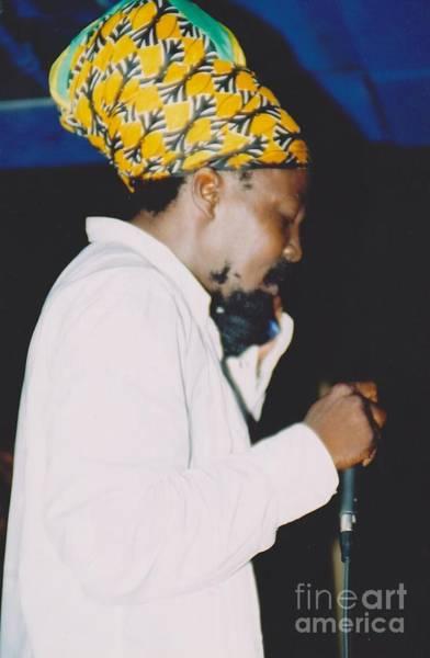 Frontman Wall Art - Photograph - Junior Reid Black Uhuru Frontman by Mia Alexander