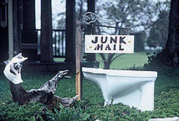 Visual Language Photograph - Junk Mail by The Signs of the Times Collection