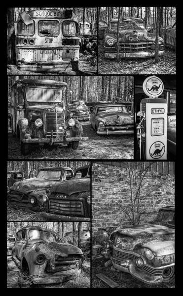 Photograph - Junk Yard Cars by Matthew Pace