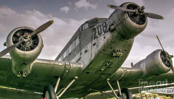 Ju 52 Wall Art - Photograph - Junkers Ju 52 Aircraft by Bratislav Braca Stefanovic