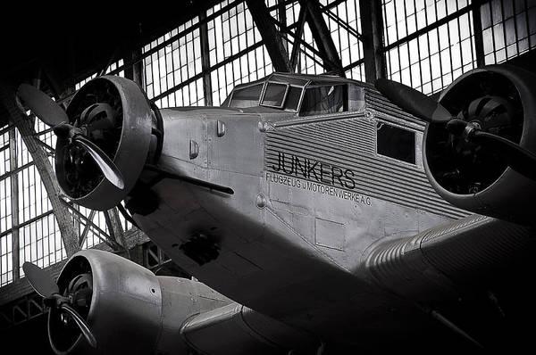 Ju 52 Wall Art - Photograph - Junkers Ju-52 by Geoff Evans