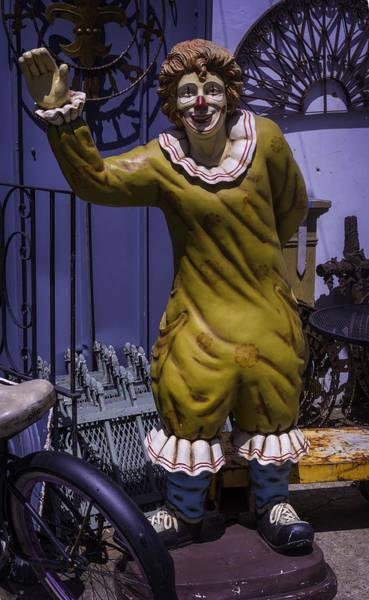 Junkyard Photograph - Junkyard Clown by Garry Gay