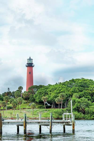 Photograph - Jupiter Inlet Light, Florida by Kay Brewer