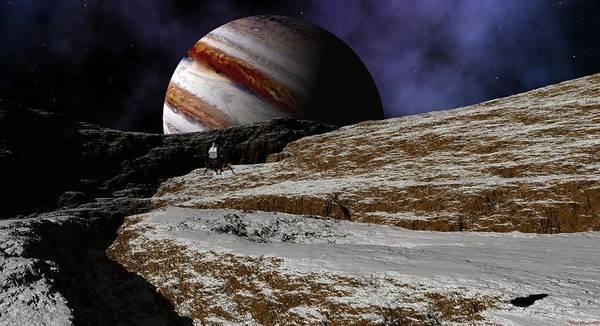 Jupiter Rise Art Print