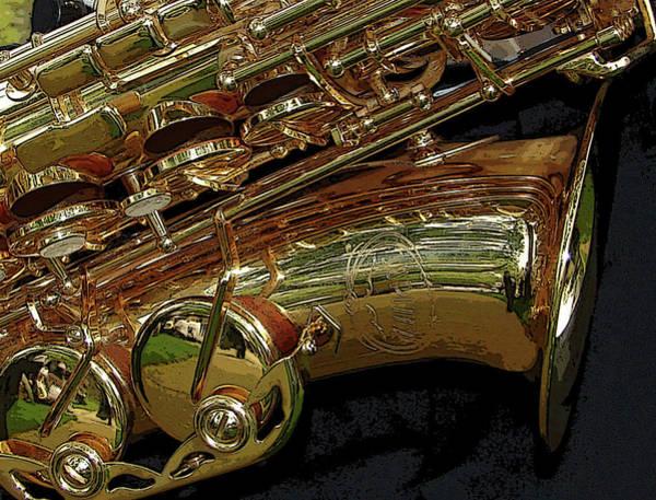 Photograph - Jupiter Saxophone by Michelle Calkins