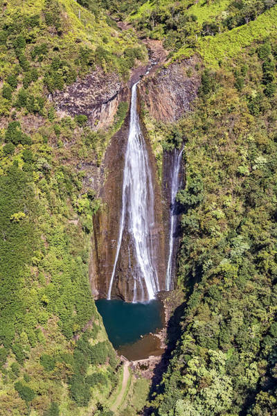 Photograph - Jurassic Falls Kauai by Pierre Leclerc Photography
