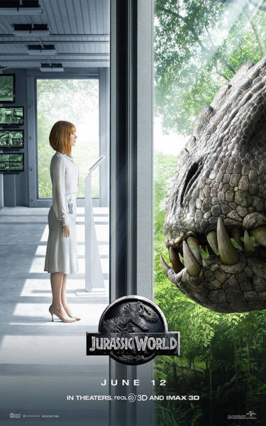 Mixed Media - Jurassic World .5 by Movie Poster Prints