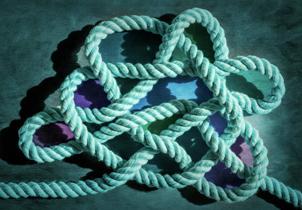 Photograph - Jury Mast Knot 1 by Steven Greenbaum