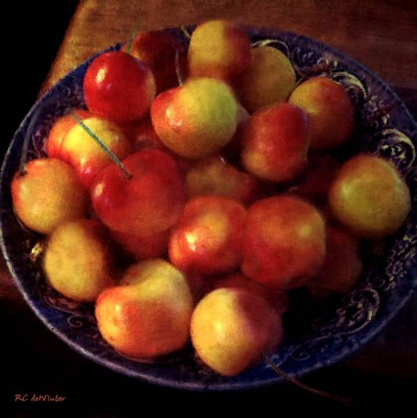 Painting - Just A Bowl Of... by RC DeWinter
