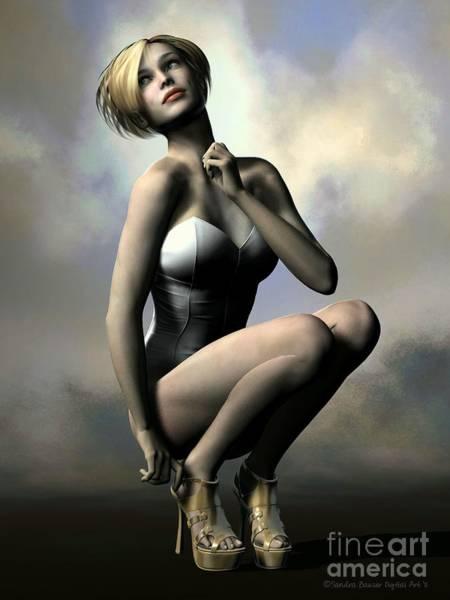 Daz Wall Art - Digital Art - Just A Moment by Sandra Bauser Digital Art