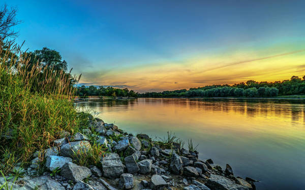 Photograph - Just After Sun Went Down by Julis Simo