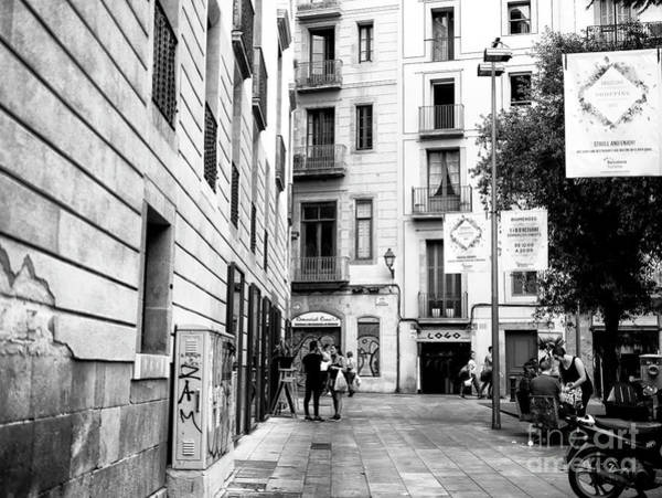 Photograph - Just Another Day In Barcelona by John Rizzuto