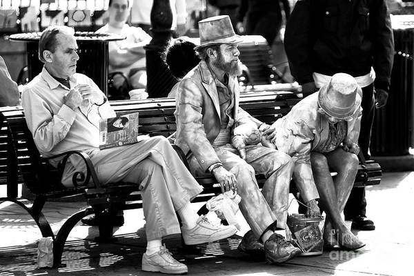 Photograph - Just Another Day In Jackson Square New Orleans by John Rizzuto