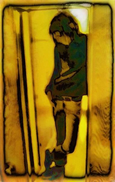 Depressed Digital Art - Just Another Day In School by Gun Legler