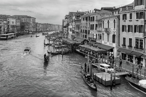 Photograph - Just Another Day In Venice by Georgia Fowler