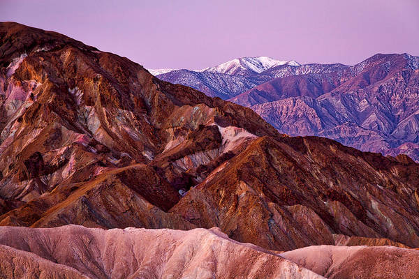 Photograph - Just Before Dawn - Death Valley by Stuart Litoff