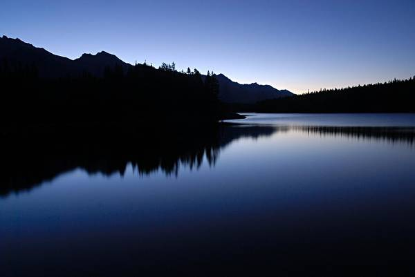 Wall Art - Photograph - Just Before Dawn by Larry Ricker