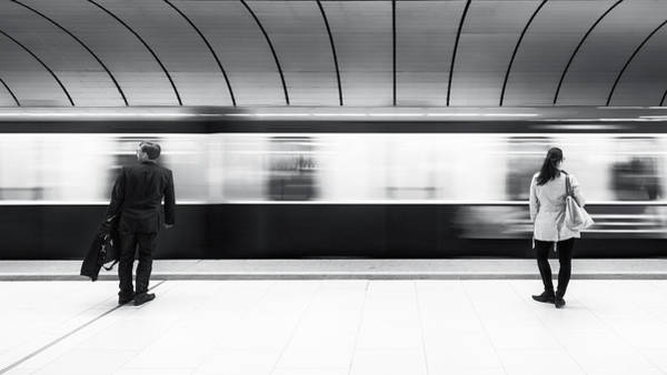 Underground Photograph - Just Before Leaving by Gerard Jonkman