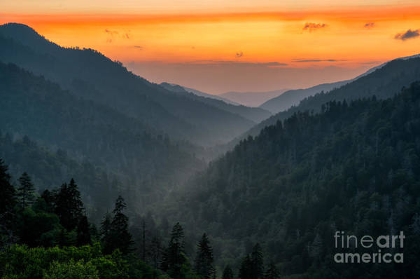 Wall Art - Photograph - Just Beyond Sunset by Anthony Heflin
