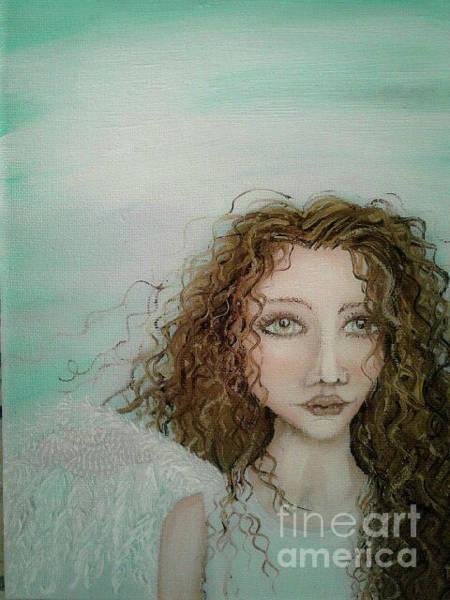 Pearl Jam Painting - Just Breathe by Wendy Wunstell
