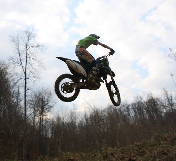 Dirtbike Photograph - Just Chillin by Monica Smith