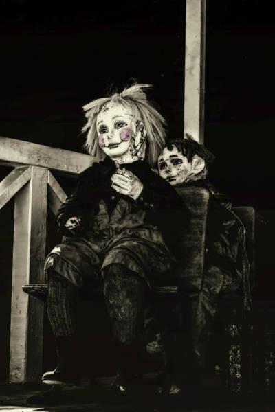 Lewiston Photograph - Just Creepy  by Marnie Patchett