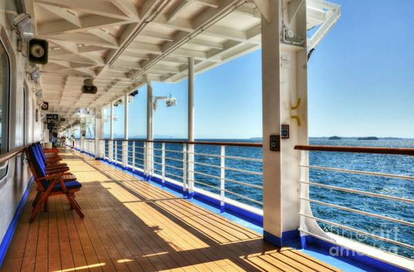 Princess Cruise Lines Photograph - Just Cruising 4 by Mel Steinhauer