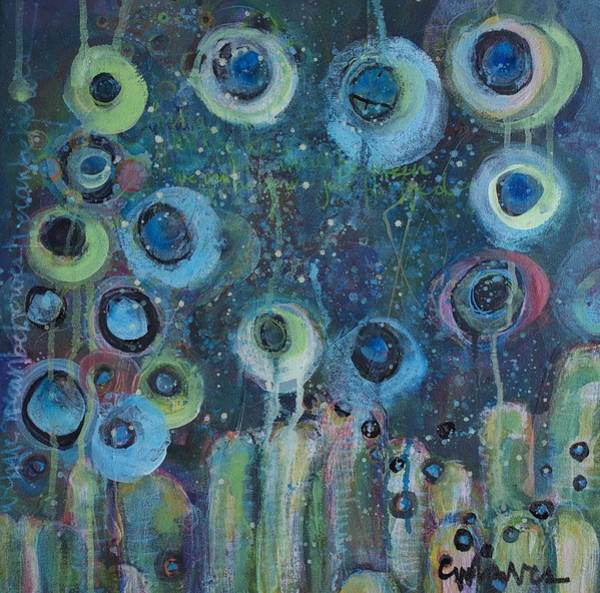 Painting - Just For One Day by Laurie Maves ART