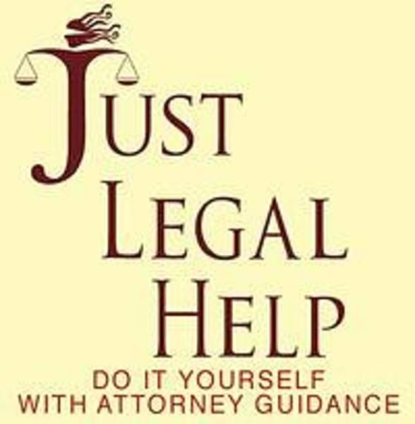 Do It Yourself Digital Art - Just Legal Help  Logo by David  Ross